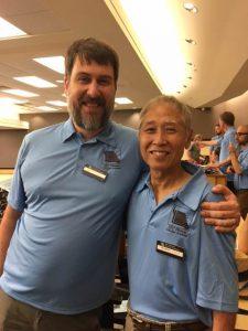 Jim Meyer and Ake Takahashi